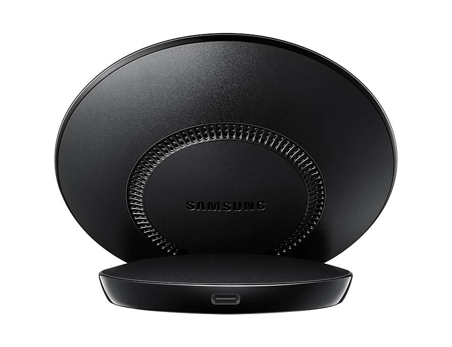 Samsung Bezdrátová nabíjecí stanice EP-N510 Black (s podporou rychlonabíjení 7,5W pro iOS a 5W QI)