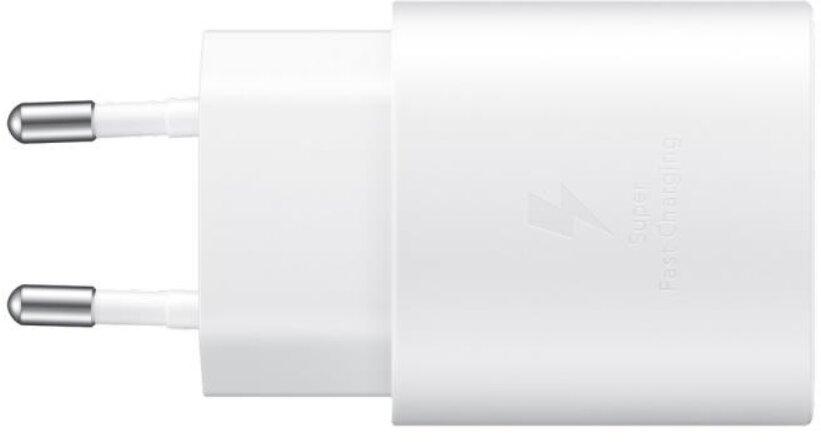 Samsung Napájecí adaptér s rychlonabíjením (25W), bez kabelu v balení, White