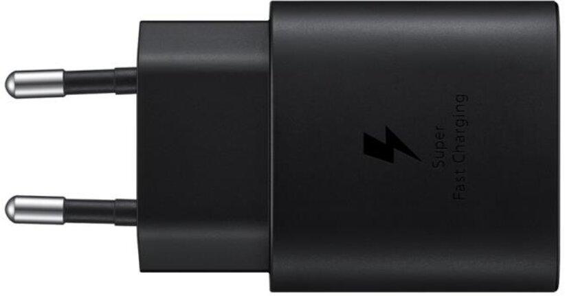Samsung Napájecí adaptér s rychlonabíjením (25W), bez kabelu v balení, Black