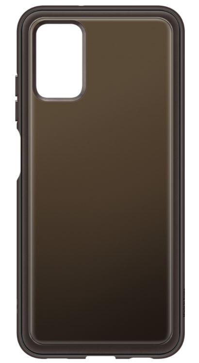 Samsung Poloprůhledný zadní kryt A03s Black