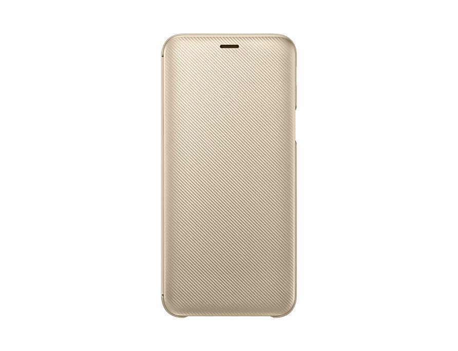 Samsung Flipové pouzdro pro J6 2018 Gold