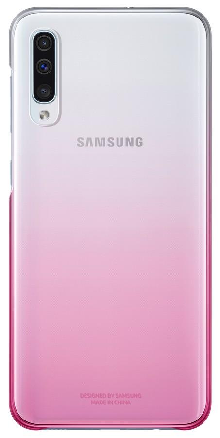 Samsung Gradation kryt pro Galaxy A50 Pink