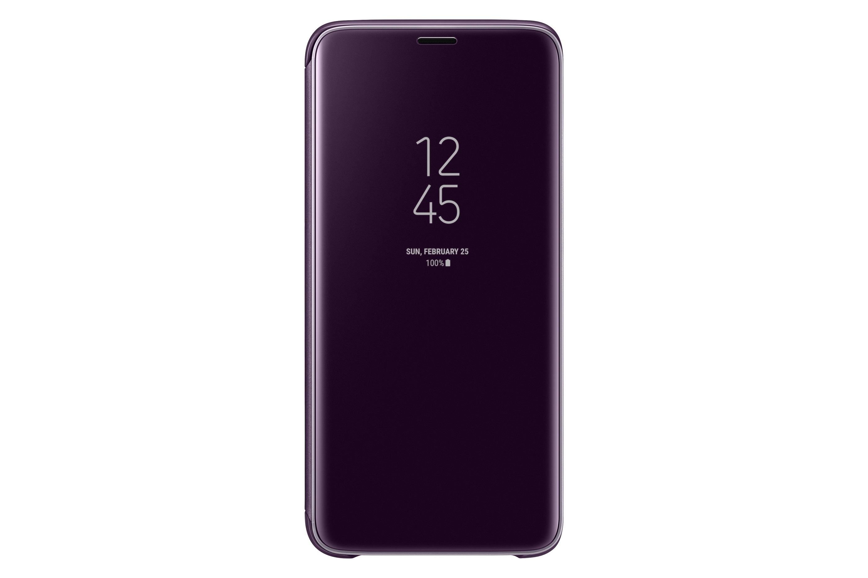 Samsung Flipové pouzdro Clear View pro S9 Purple