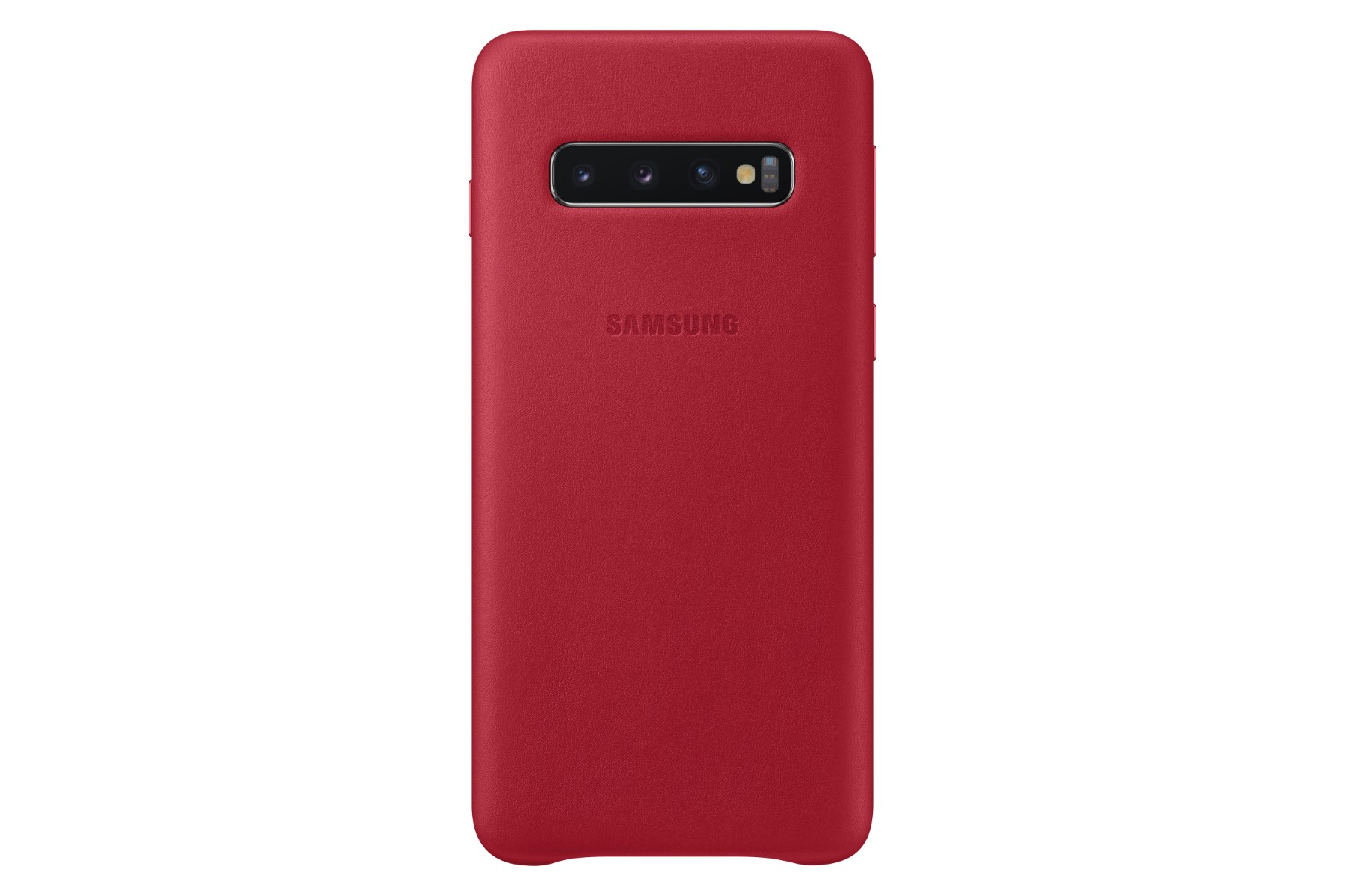 Samsung Leather Cover S10 Red
