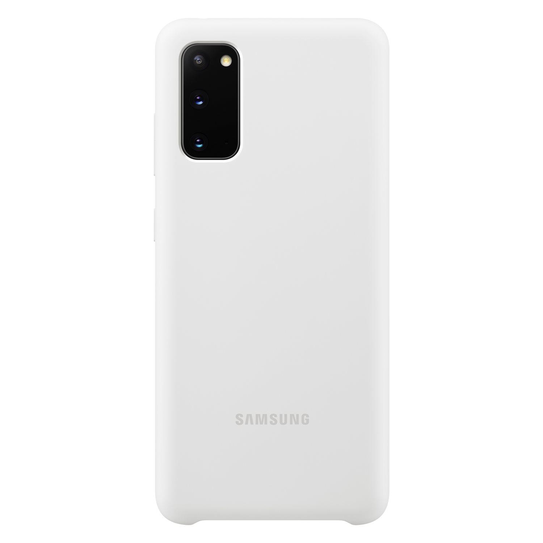 Samsung Silikonový kryt pro S20 White