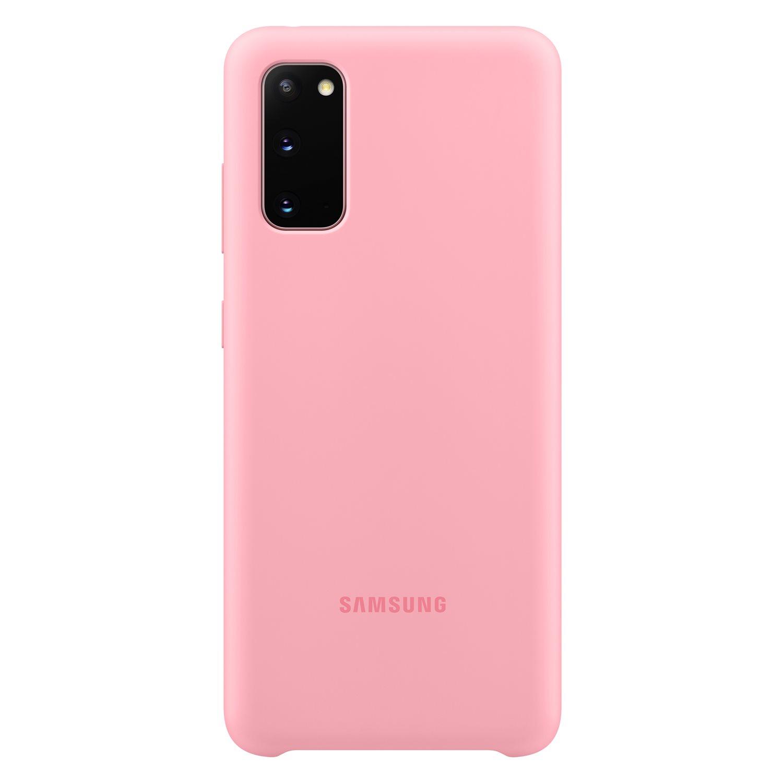Samsung Silikonový kryt pro S20 Pink