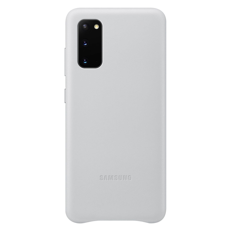 Samsung Kožený kryt pro S20 Light Gray