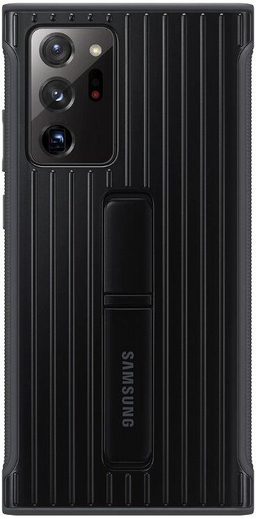 Samsung Tvrzený ochranný kryt se stojánkem pro Note 20 Ultra Black