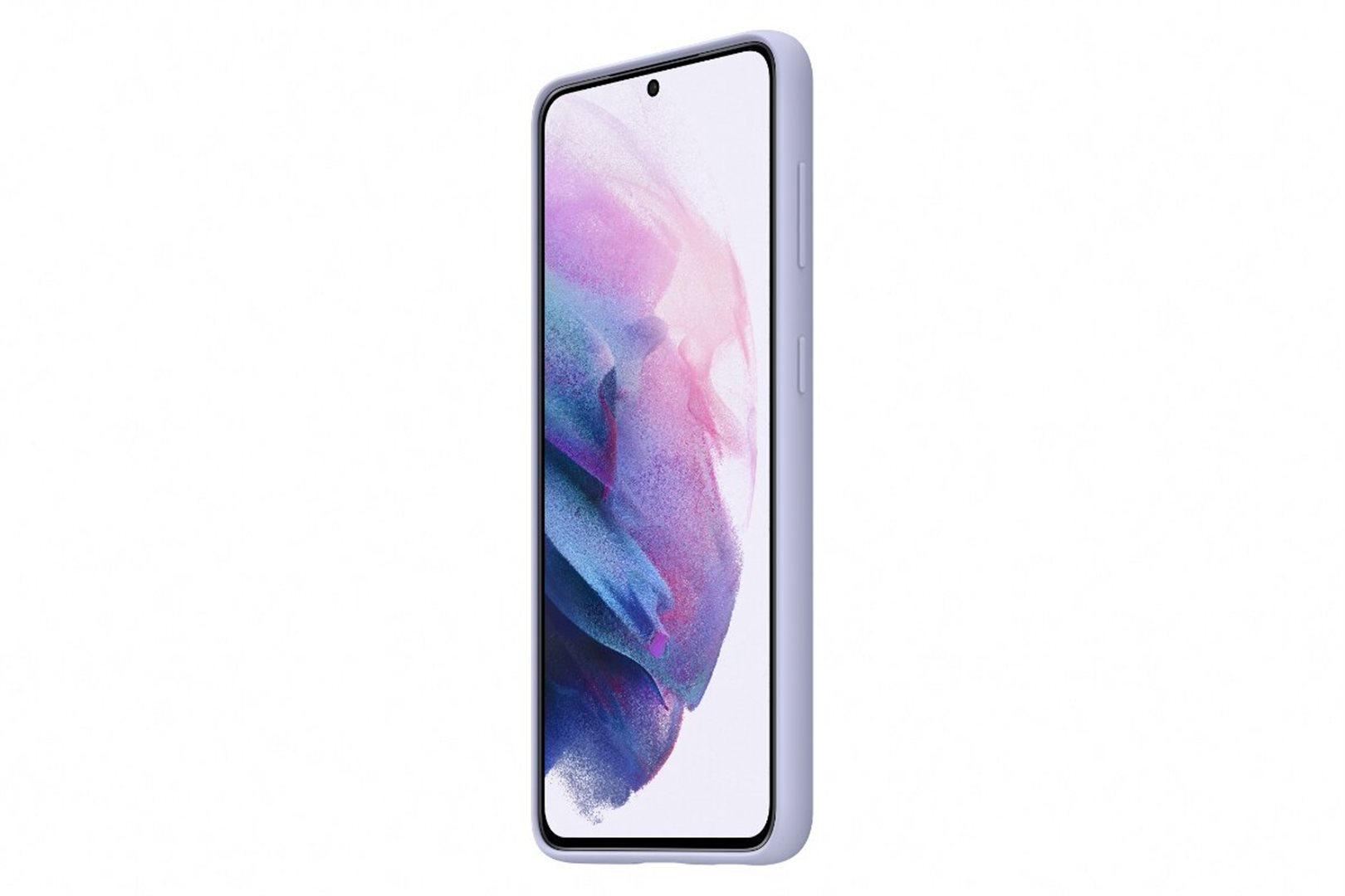 Samsung Silikonový zadní kryt pro S21+Violet