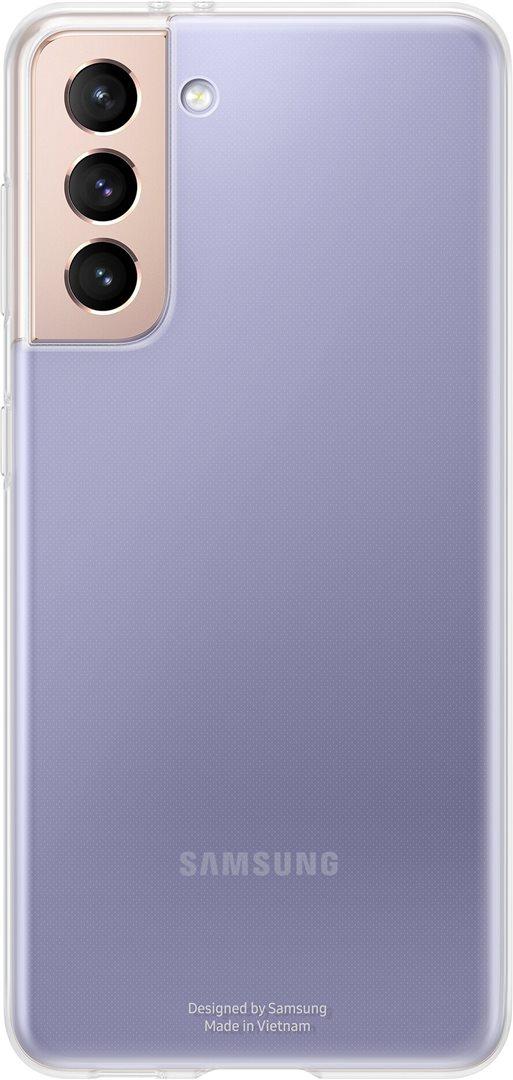 Samsung Průhledný zadní kryt pro S21+ Transparent