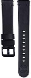 Samsung Braloba Essex kožený řemínek Galaxy Watch 20mm, Black