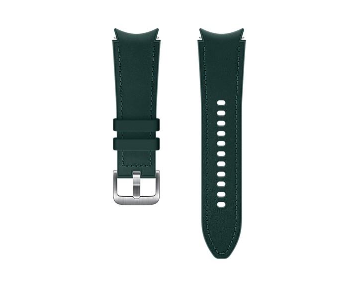 Samsung Hybridní kožený řemínek (20 mm,M/L) Green