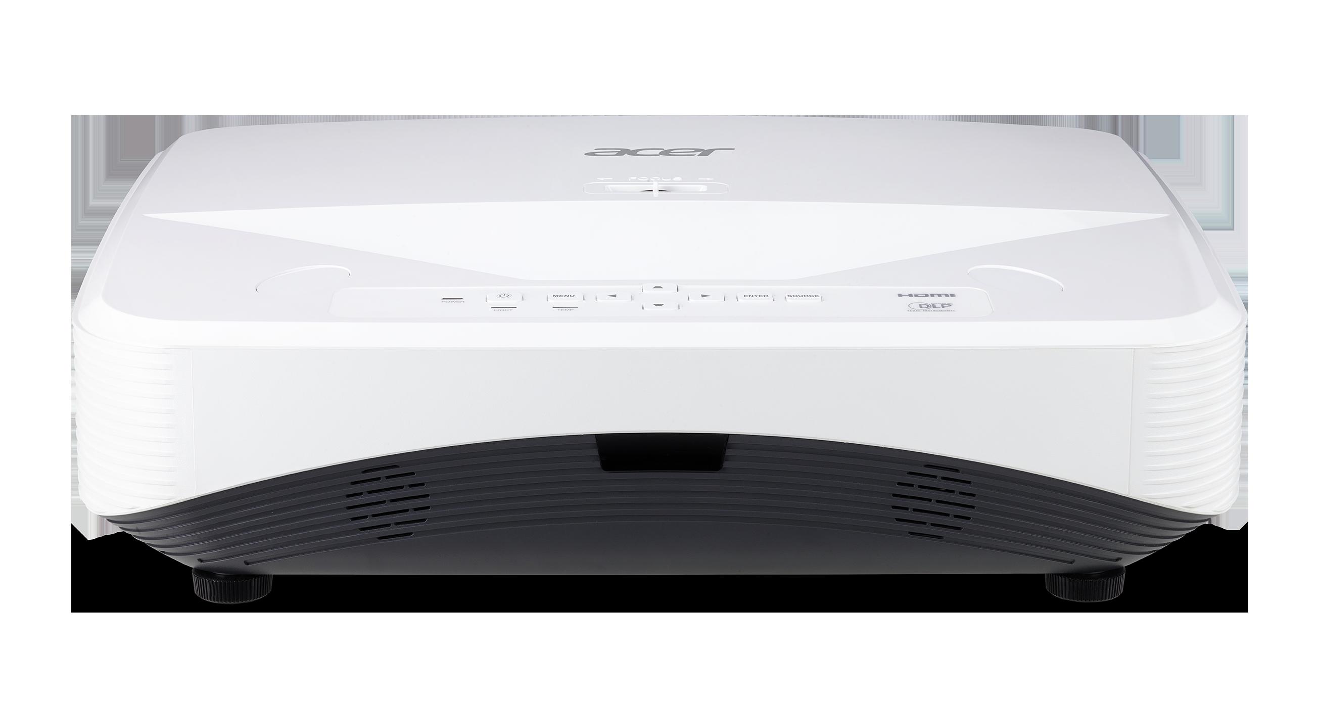 Acer DLP UL2510 (UltraShortThrow) - 3500Lm, XGA, 13000:1, HDMI, VGA, USB, RJ45, repro., bílý