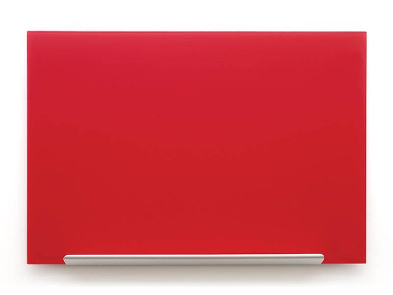 Skleněná tabule Diamond glass 126x71,1 cm, red