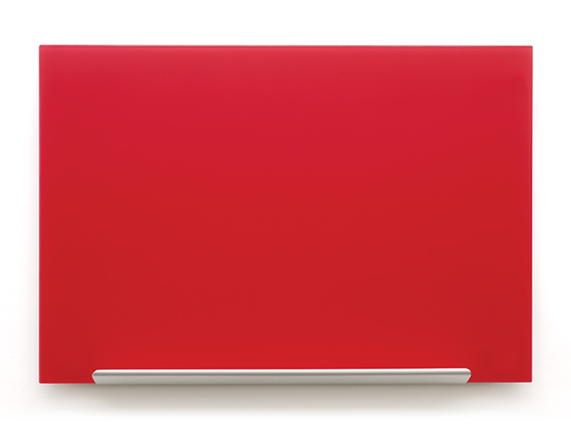 Skleněná tabule Diamond glass 188,3x105,3 cm, red
