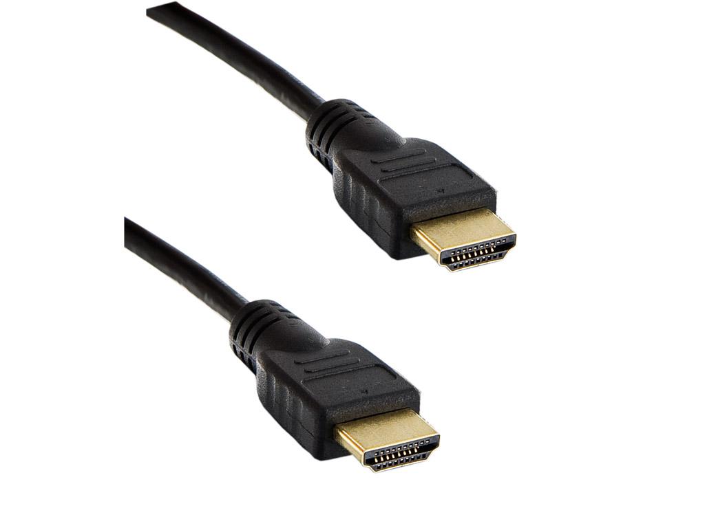 4W Kabel HDMI 1.4 High Speed Ethernet 7.5m Black
