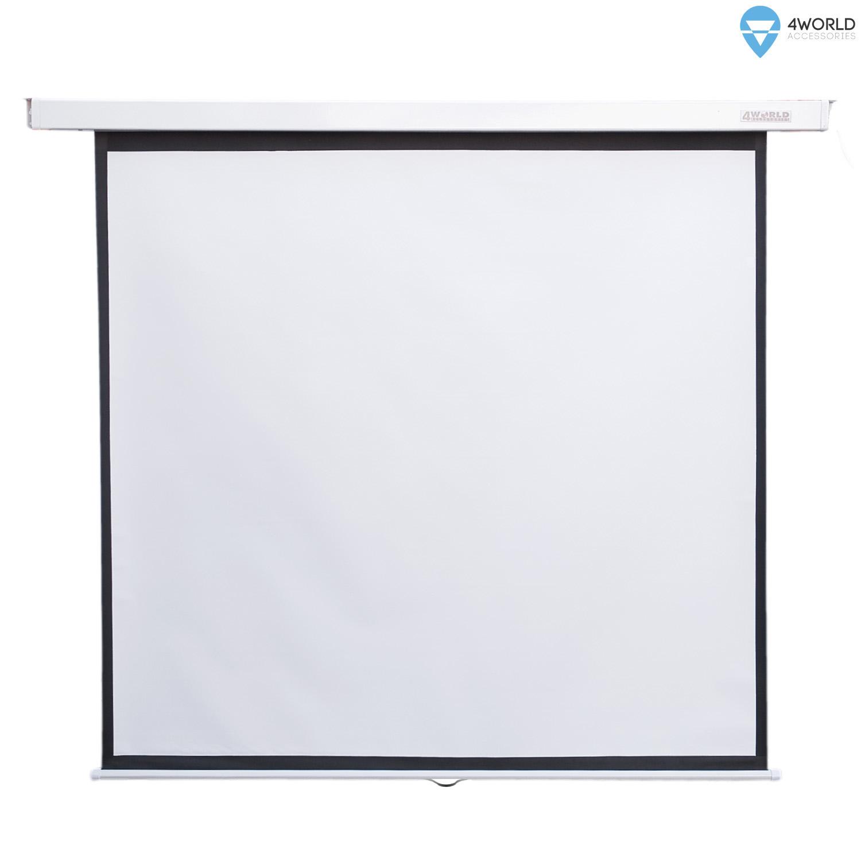 4World Projekční plátno manuální 200x200 112