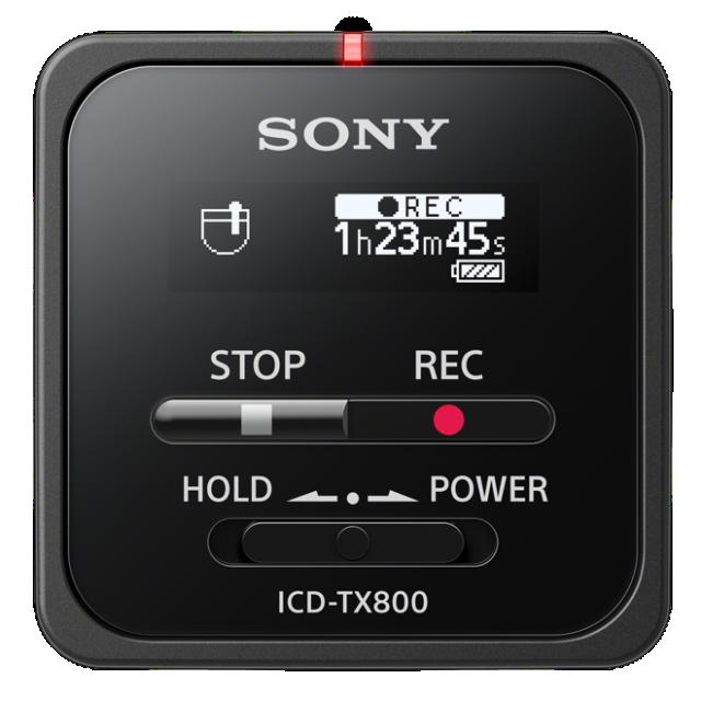 Sony dig. diktafon ICD-TX800,černý,16GB,USB