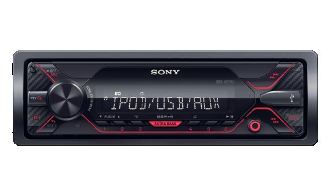 Sony autorádio DSX-A210UI bez mechaniky,USB,