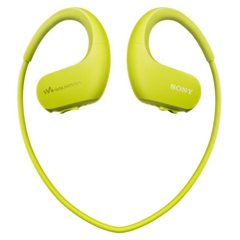 Sony MP3 přehrávač 4 GB NW-WS413 zelený, voděod.