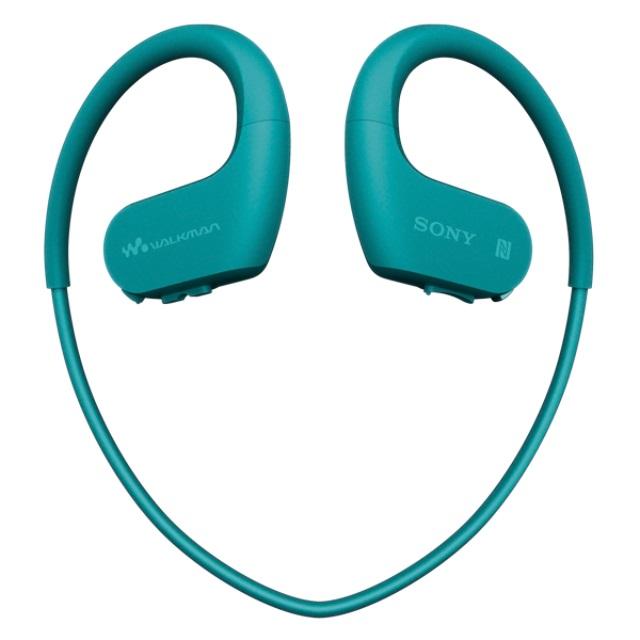 Sony MP3 přehrávač 4 GB NW-WS623 modrý, voděod.