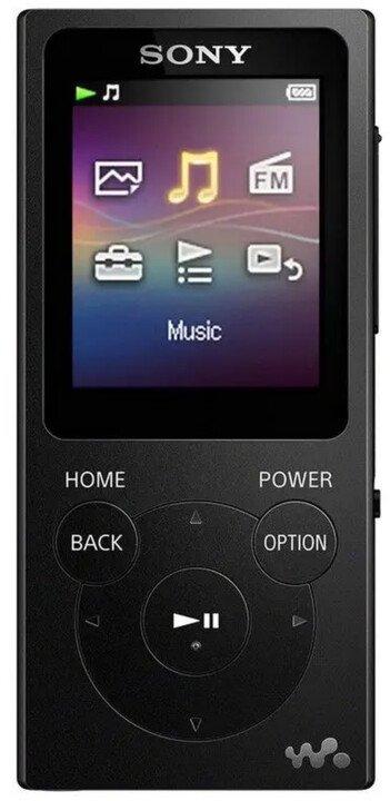 Sony MP3 8GB NW-E394L, černý
