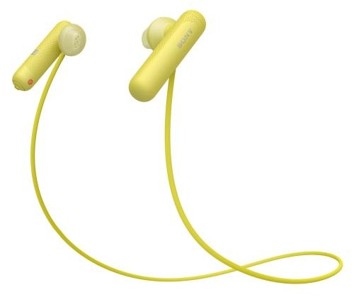 SONY WISP500Y.CE7 Sportovní bezdrátová sluchátka do uší - Yellow