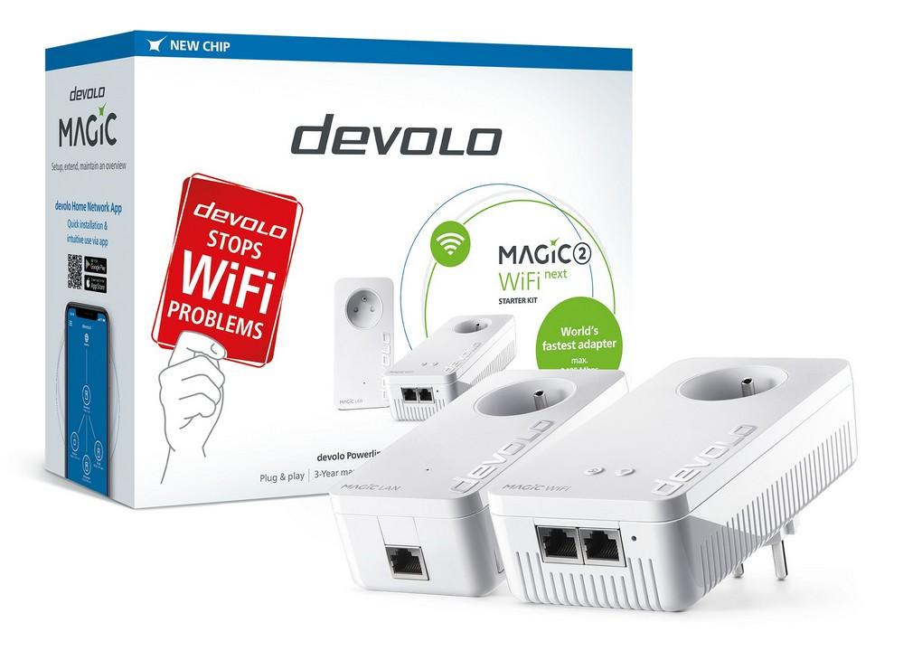 devolo Magic 2 WiFi next Starter Kit 2400mbps