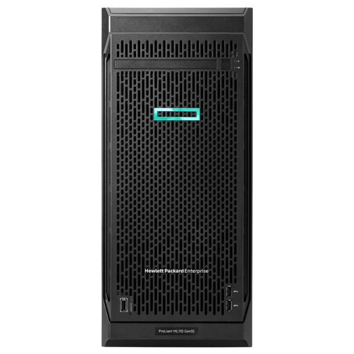 HPE PL ML110g10 4208 (2.2G/8C/11M) 1x16G S100i 8SFF HP 800W1/2 NBD333 iQuote AKCE
