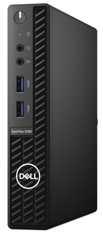 Dell Optiplex 3080 MFF Micro i3-10100T/8G/256 SSD/WiFi/W10P/3R-NBD