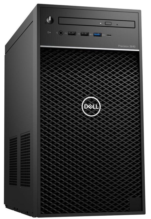Dell Precision 3640 Tower i7-10700K/16GB/512GB SSD/P2200-5GB/DVD-RW/W10P/3RNBD/Černý