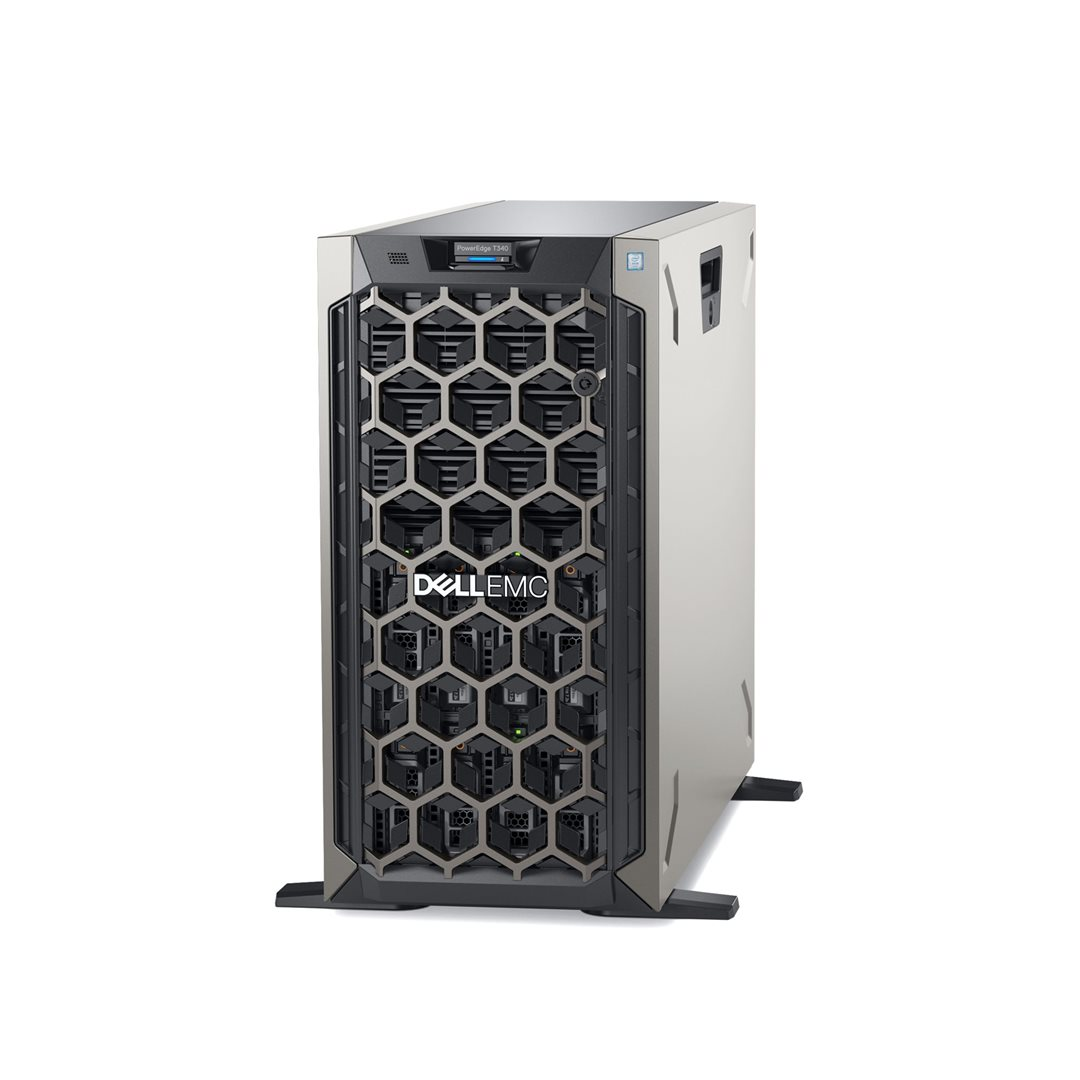 Promo do 30.7.! DELL server PowerEdge T340 E-2244/16G/2x600GB SAS 10K/H730P/iDrac-ENT/2x495W/3R PrSu