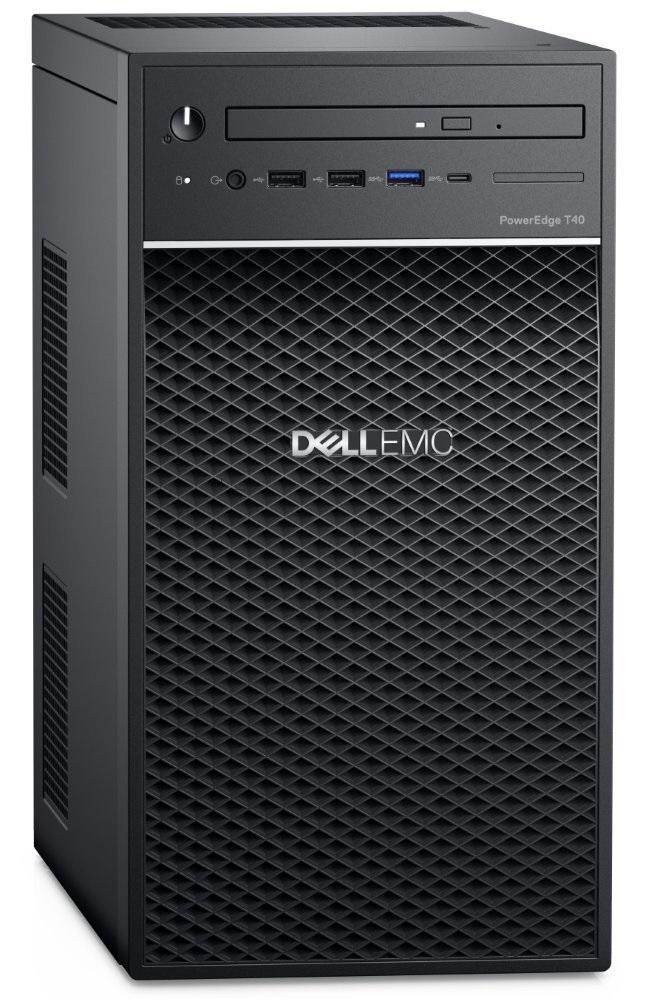 Dell T40 E-2224G/16G/2x4TB/DVDRW/3xGLAN/3RNBD
