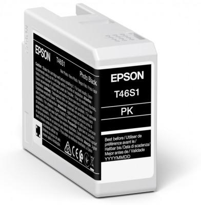 Epson Singlepack Black T46S1 UltraChrome Pro Zink