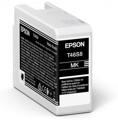 Epson Singlepack Matte Black T46S8 Ultrachrome
