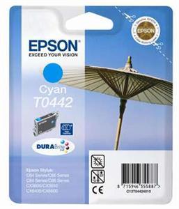 EPSON cyan C64/C66/C84/C86/CX3650/CX6400 HiCap  T0442 DURABrite