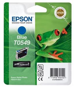 EPSON SP R800 Blue Ink Cartridge T0549