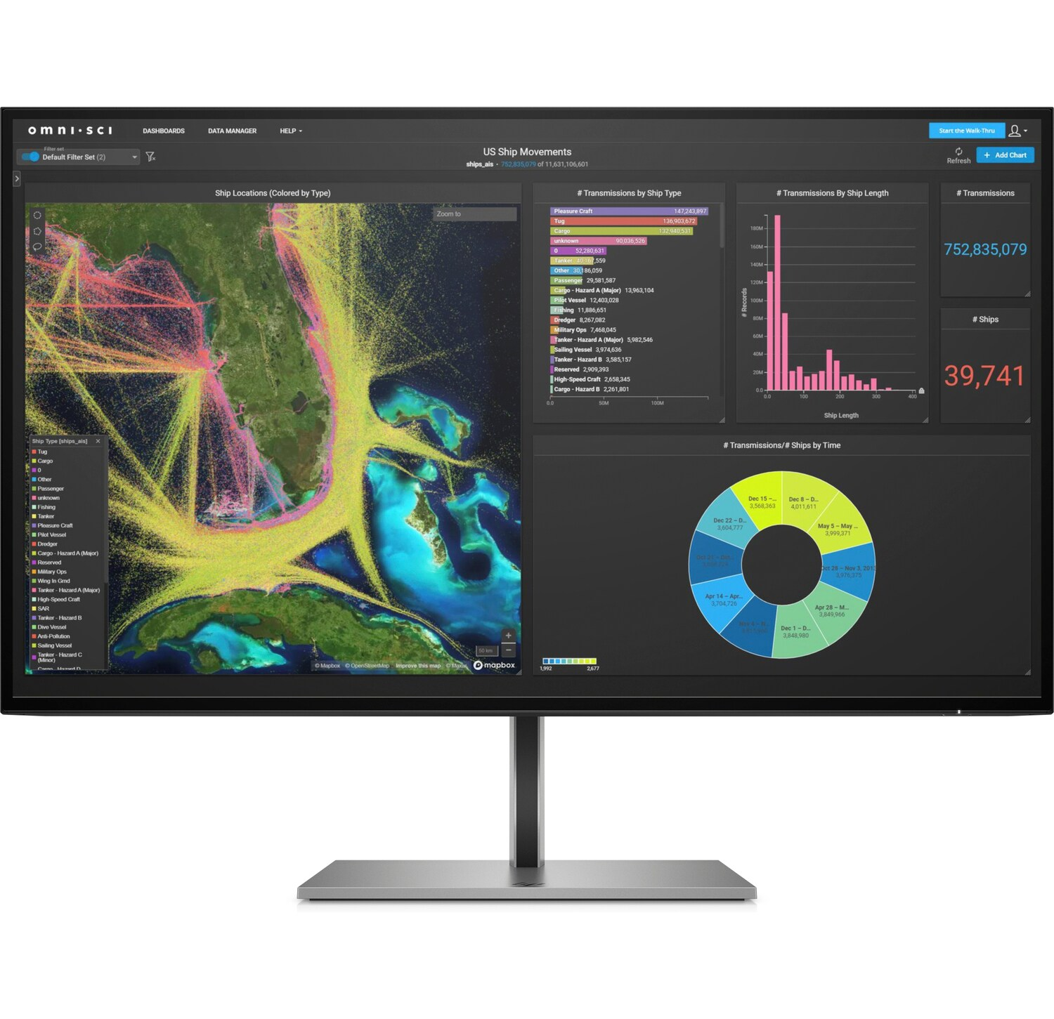 HP Z27k G3 4K 350jas/HDMI/DP(in/out)100w usb-c