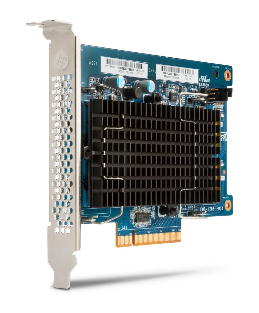 HP Z Turbo Drive Dual Pro 512GB SSD (PCIE 8x dual NVME karta + 1x m.2 SSD)