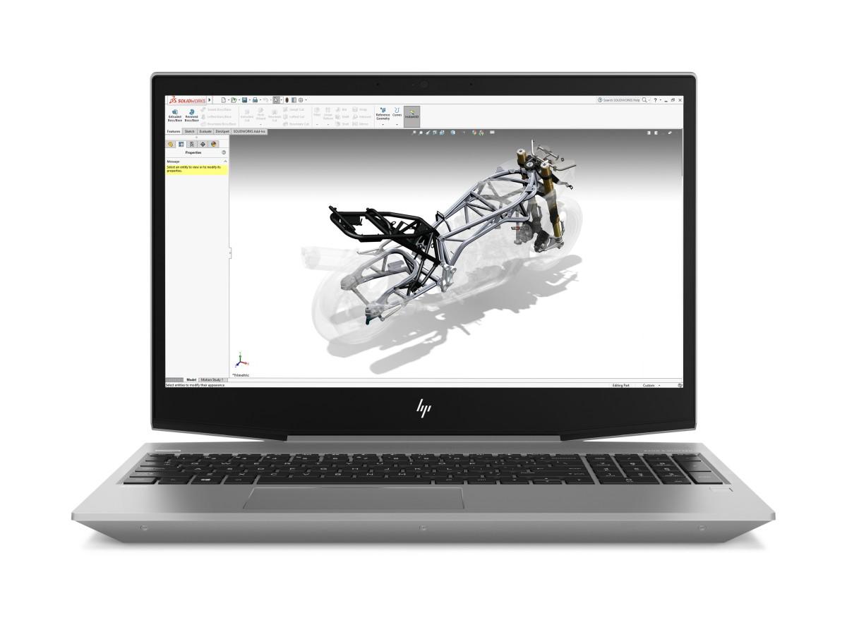 HP Zbook 15v G5 i7-9750H/NVIDIA QUADRO P600-4G/16GB/512GB NVMe/WiFi/BT/W10Pro