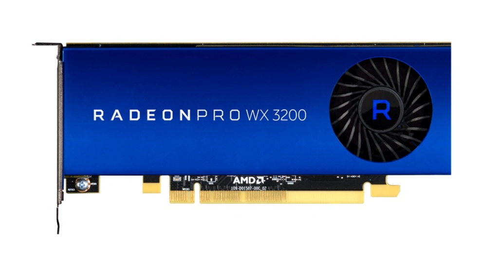HP AMD Radeon PRO WX 3200 4GB 4xmDP + 2x redukce na DP