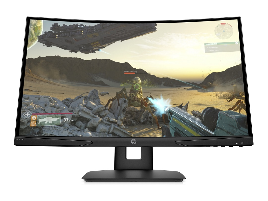 HP X24c Curved gaming