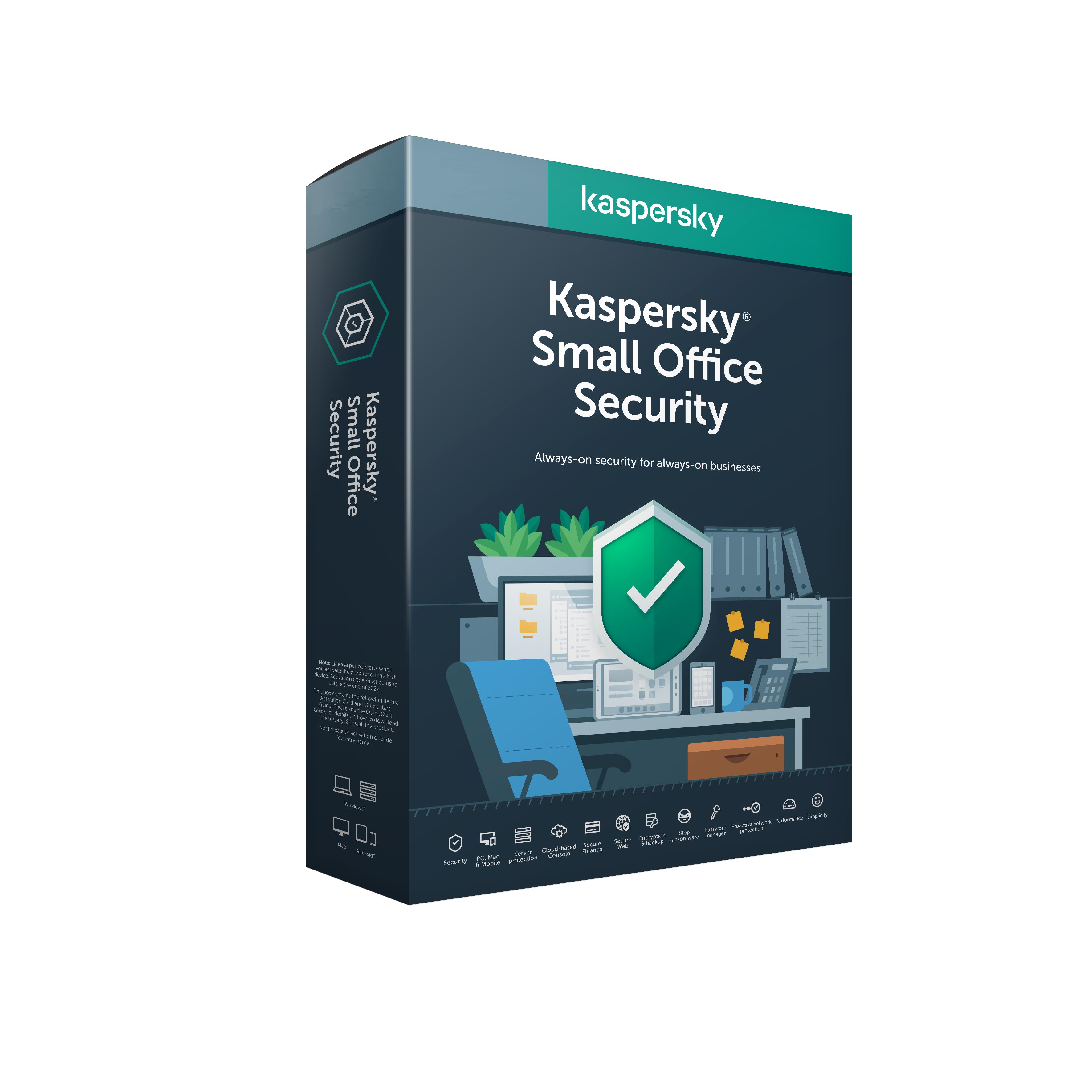Kaspersky Small Office 5-9 licencí 1 rok Obnova