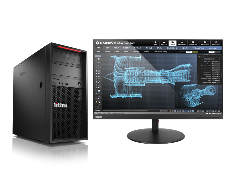 LENOVO PC ThinkStation/Workstation P520c Tower - W-2125,16GB,256SSD,noGraphicsCard,RJ-45,DVD,W10P,3r on-site
