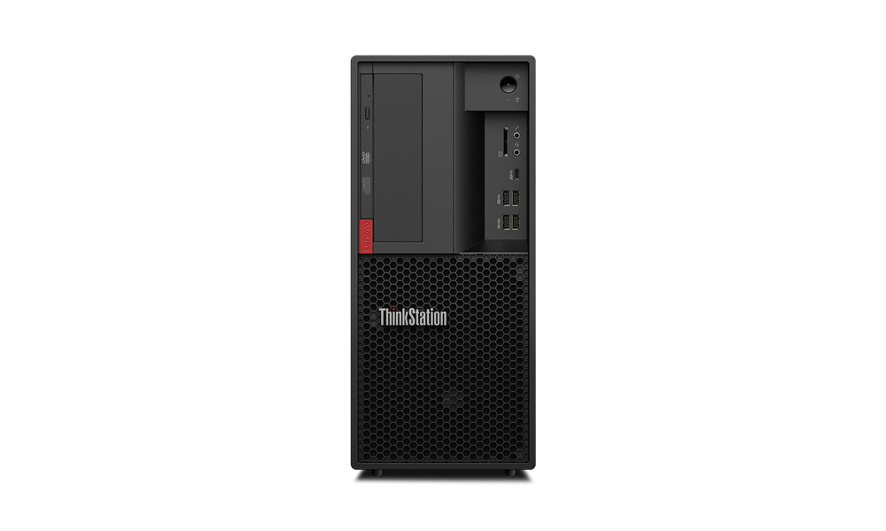 Lenovo ThinkStation TS P330 TWR/i7-9700/2x8G/256+1T/DVD/W10P + Sleva 50€ na bundle s monitorem!