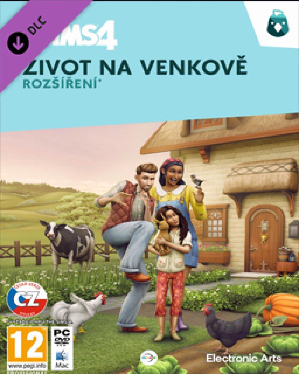 ESD The Sims 4 Život na venkově
