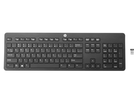 HP Slim Wireless (Link-5) Keyboard BLANK - CZ