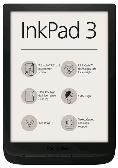 E-book POCKETBOOK 740 Inkpad 3, Black