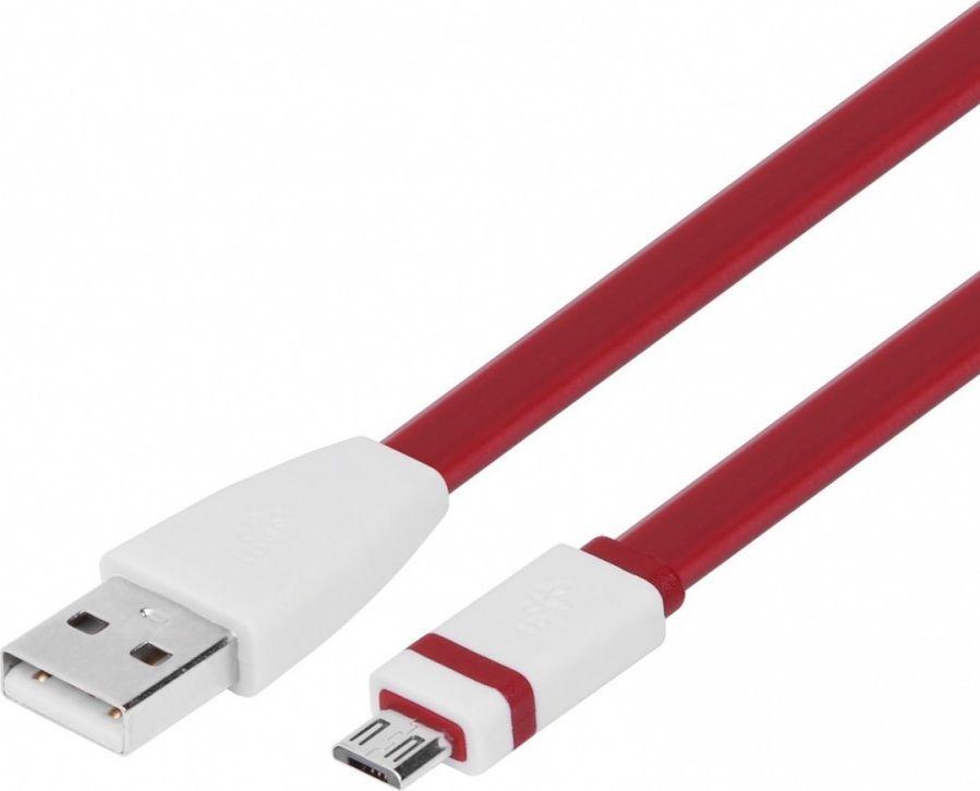 TB Micro USB - USB cable 1m burgundy