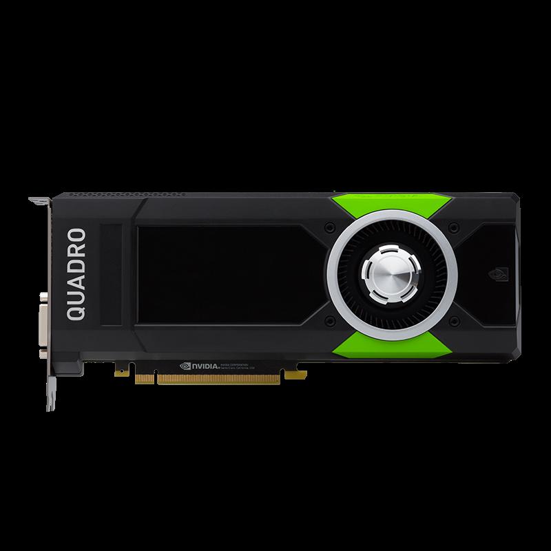 HP NVIDIA Quadro P5000 16GB 4xDP 4x4K/2x5K